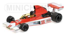 McLaren  - 1976 white/orange - 1:18 - Minichamps - 530761831 - mc530761831 | The Diecast Company