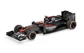 McLaren  - 2015 black - 1:43 - Minichamps - 537154122 - mc537154122 | The Diecast Company