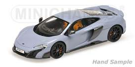 Minichamps - McLaren  - mc537154420 : 2015 McLaren 675LT Coupé *Resin series*, grey