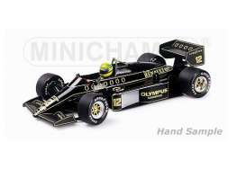 Minichamps - Lotus Renault - mc540851212 : 1985 Lotus Renault 97T A.Senna, black/yellow