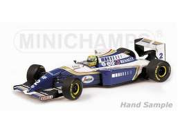 Minichamps - Williams Renault - mc547941202 : 1994 Williams Renault FW16 A.Senna #2 Brazil GP *Resin series*, blue/white