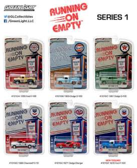 Assortment/ Mix  - various - 1:64 - GreenLight - 41010 - gl41010 | The Diecast Company