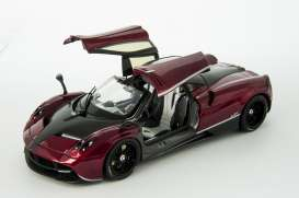 Pagani  - 2014 blood red/black - 1:18 - GTA - gta11007TFr | The Diecast Company