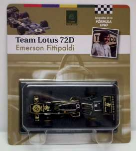 Lotus  - 1972 black/gold - 1:43 - Magazine Models - for06 - magfor06 | The Diecast Company