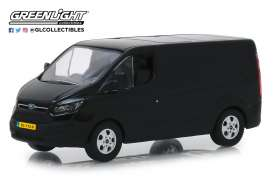 Ford  - Transit Custom V362 2016 shadow black - 1:43 - GreenLight - 51095 - gl51095 | The Diecast Company