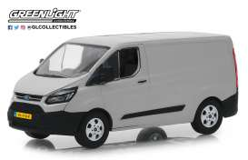 Ford  - Transit Custom V362 2016 moondust silver - 1:43 - GreenLight - 51096 - gl51096 | The Diecast Company