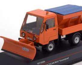 Multicar  - 1980 orange/blue - 1:43 - Ixo Ist Collection - ixist288R | The Diecast Company
