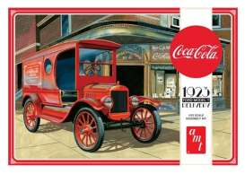 AMT - Ford  - amts1024 : 1/25 1923 Ford Model T Delivery *Coca Cola*, plastic modelkit