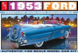 AMT - Ford  - amts1026 : 1/25 1953 Ford Convertible, plastic modelkit