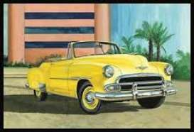 AMT - Chevrolet  - amts1041 : 1/25 1951 Chevy Convertible, plastic modelkit