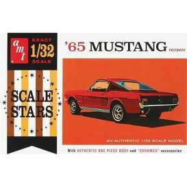 AMT - Ford  - amts1042 : 1/32 1965 Ford Mustang Fastback, plastic modelkit