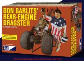 MPC - Dragster  - mpc868 : 1/25 Don Garlits Wynns Charger Rear Engine Dragster (Hot Wheels), plastic modelkit