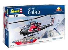 48 Revell 05723 Helicopter Bell AH-1F Cobra Flying Bulls Bastelset   1