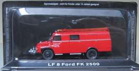 Ford  - LF8 FK 2500 red - Magazine Models - fireFK2500 - magfireFK2500 | The Diecast Company