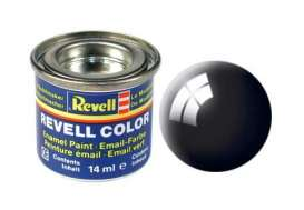 Paint  - black gloss - Revell - Germany - 32107 - revell32107 | The Diecast Company