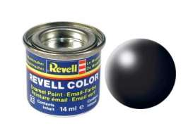 Paint  - black satin - Revell - Germany - 32302 - revell32302 | The Diecast Company