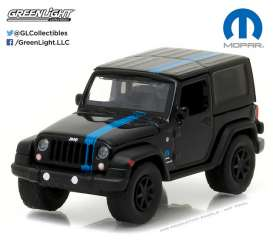 GreenLight - Jeep  - gl29886 : 2010 Jeep Mopar Edition Hobby Exclusive, black/blue