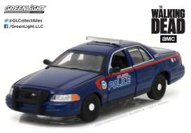 GreenLight - Ford  - gl86510 : 2001 Ford Crown Victoria Police Interceptor Atlanta Police *The Walking Dead TV Series*