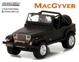 Jeep  - 1987  - 1:64 - GreenLight - 44760C - gl44760C | The Diecast Company