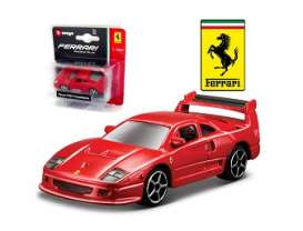 Ferrari  - 1987 red - 1:64 - Bburago - bura56007r | The Diecast Company