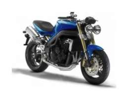 Maisto - Triumph  - mai342b : 2011 Triumph Speed Triple, blue