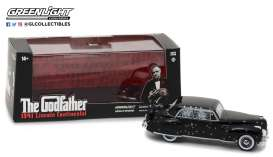 Lincoln  - 1941 black - 1:43 - GreenLight - gl86511 | The Diecast Company