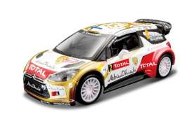 Citroen  - 2013 white/gold/red - 1:32 - Bburago - 41045 - bura41045 | The Diecast Company