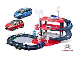 Citroen  - red/blue - 1:43 - Bburago - bura30183 | The Diecast Company