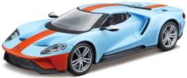 Ford  - 2017 blue/orange - 1:32 - Bburago - 43043B - bura43043B | The Diecast Company