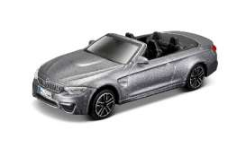 BMW  - 2014 blue - 1:43 - Bburago - 30298b - bura30298b | The Diecast Company