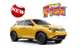 Nissan  - yellow - 1:43 - Bburago - bura30136 | The Diecast Company