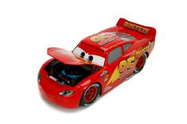 Cars  - 3 Lightning McQueen 2017 red - 1:24 - Jada Toys - 30214 - jada30214 | The Diecast Company