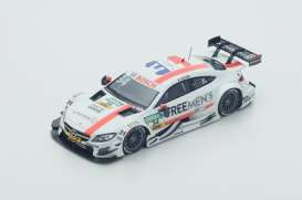 Mercedes Benz  - 2016 white/orange - 1:43 - Spark - sg287 - spasg287 | The Diecast Company