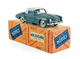 Norev - Mercedes  - norCL3511 : 1956 Mercedes-Benz 190 SL, grey-blue