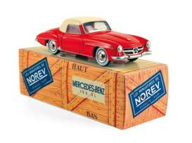 Mercedes Benz  - 1956 red/ivory - 1:43 - Norev - CL3512 - norCL3512 | The Diecast Company