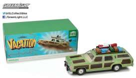 "GreenLight - Ford  - gl19031 : 1979 Family Truckster ""Wagon Queen"" with Rooftop Luggage *Artisan Collection* National Lampoon"