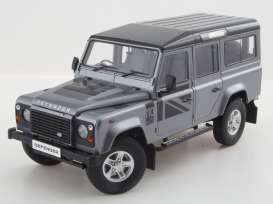 Land Rover  - 1983 silver grey metallic - 1:18 - Dorlop - dor1810SLrhd | The Diecast Company