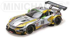BMW  - 2015 white/yellow/green - 1:18 - Minichamps - mc151152346 | The Diecast Company