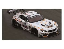 Minichamps - BMW  - mc151152388 : 2015 BMW Z4 GT3 Triple Eight Racing Mowle/Ratcliffe /Müller 24H SPA, white/orange/grey