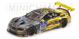 BMW  - 2016 grey/yellow - 1:43 - Minichamps - 437162609 - mc437162609 | The Diecast Company