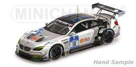 BMW  - 2016 grey/white - 1:43 - Minichamps - 437162618 - mc437162618 | The Diecast Company