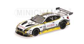 BMW  - 2016 white/yellow - 1:43 - Minichamps - 437162699 - mc437162699 | The Diecast Company