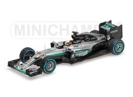 Minichamps - Mercedes Petronas - mc417160644 : 2016 Mercedes AMG Pertronas Formule One Team F1 WO7 Hybrid Lewis Winner 