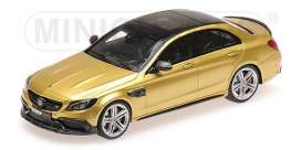 Brabus Mercedes Benz - 2015 gold - 1:43 - Minichamps - 437036101 - mc437036101 | The Diecast Company