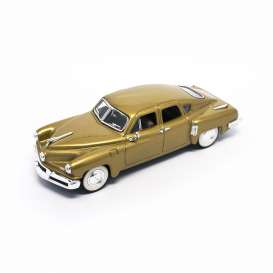 Tucker  - 1948 gold - 1:43 - Lucky Diecast - ldc43201gld | The Diecast Company