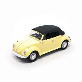 Volkswagen  - 1972 yellow/black - 1:43 - Lucky Diecast - ldc43221y | The Diecast Company