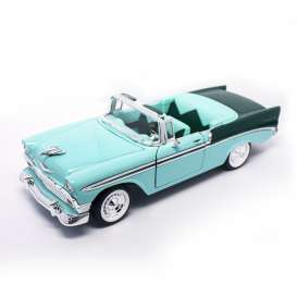 Chevrolet  - 1956 green - 1:18 - Lucky Diecast - ldc92128gn | The Diecast Company