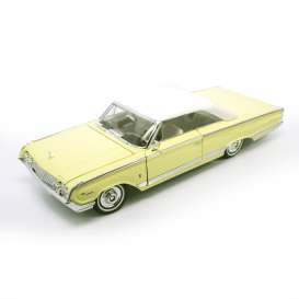 Mercury  - 1964 yellow - 1:18 - Lucky Diecast - ldc92568y | The Diecast Company