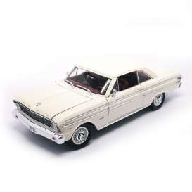 Ford  - 1964 cream/white - 1:18 - Lucky Diecast - ldc92708w | The Diecast Company