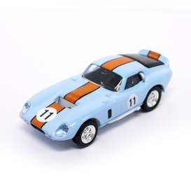 Shelby  - 1965 blue/orange - 1:43 - Lucky Diecast - ldc94242bo | The Diecast Company